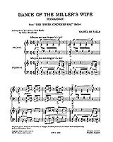 """FALLA - Danza de la Molinera de """"El Sombrero de Tres Picos"""" para 2 Pianos a 4 manos"""