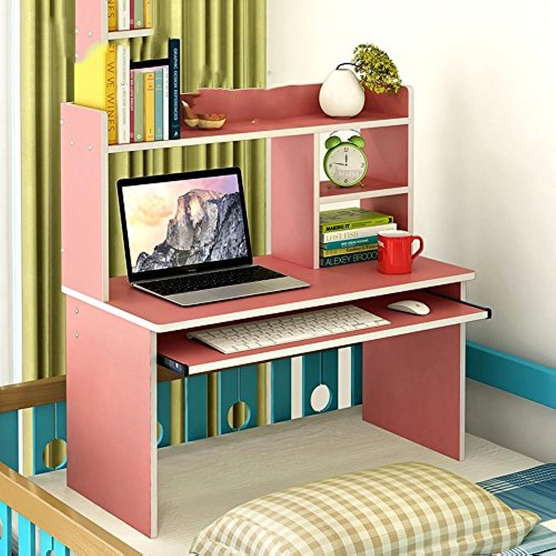 くつろぎロースト乗り出すLJHA zhuozi ベッドコンピュータデスクレイジーテーブルシンプルなベッドルームスタディの小さなデスク4色80 * 80cm (色 : D)