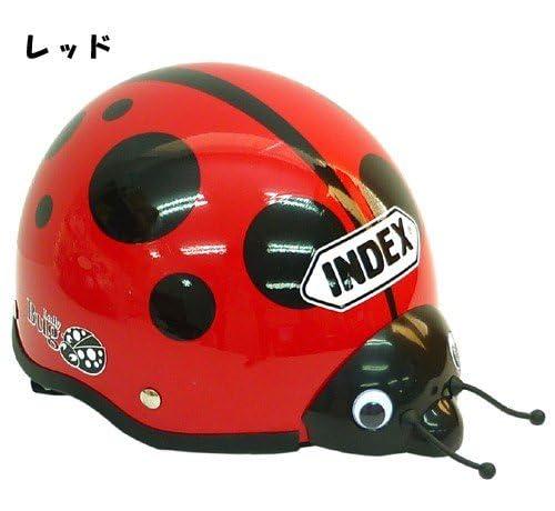 てんとう虫/Lady Bug◎キッズヘルメット☆キャラクターグッズ(子ども用ヘルメット)通販☆【レッド】