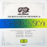 """グラモフォンの名曲 講談社版 世界音楽大全集16 チャイコフスキーⅡ THE BEST CLASSICS OF THE WORLD 16 / TCHAIKOVSKY 2  [12"""" Analog LP Record]"""