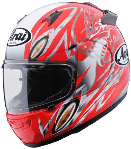 アライ(ARAI) バイクヘルメット フルフェイス QUANTUM-J Eternal レッド M (頭囲 57cm~58cm)