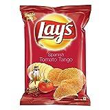 Lays Spanish Tomato Tango Potato Chips 52 grams, India - 並行輸入品 - レーススペイントマトタンゴポテトチップス52グラム、インド