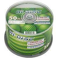 HI-DISC CD-RW 650MB 50枚 繰り返し記録用 HD CDRW74 4X50P_Outlet
