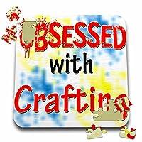 ブロンドDesigns Obsessed with–Obsessed with Crafting–10x 10インチパズル( P。_ 241588_ 2)