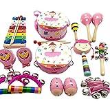 TambourineドラムベルPercussion Instrument Musical Toy for KTVパーティー子供ゲーム、# e20