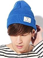 (ベストマート)BestMart スプリング サマー リブ コットン ニット帽 フリーサイズ 男女兼用 綿100% 今季最新 620463