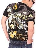 (バットウムスメ) 抜刀娘 穂乃花 猫又 和柄 半袖 Tシャツ 272108 ブラック M