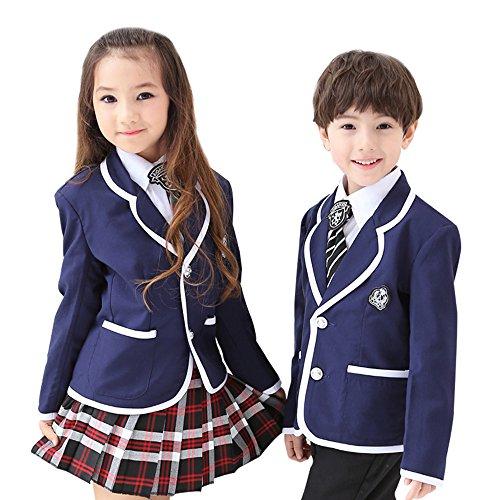 小学生制服 卒業式 子供スーツ ジャケット 学園 スクール ユニホーム 小学校 子供 キッズ スーツ...