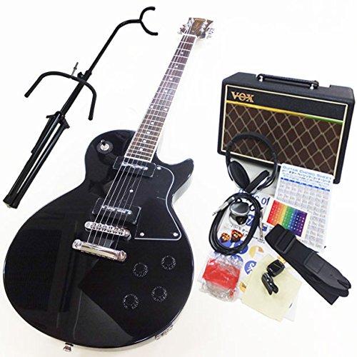 エレキギター初心者 BLP-SPL BK レスポールタイプ入門セット VOXアンプ付13点セット