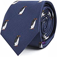 Animal Ties | Woven Neckties | Gift for Men | Work Ties for Him | Birthday Gift for Guys