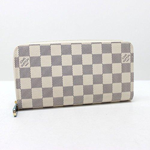 (ルイ・ヴィトン)LOUIS VUITTON N41660 ジッピー・ウォレット ダミエ・アズール ラウンドファスナー長財布 長財布(小銭入れあり) ダミエアズールキャンバス レディース 新品