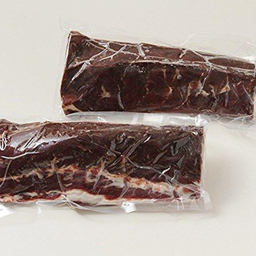 えぞ鹿のふるさと北海道白糠町の美味しい鹿肉 エゾ鹿肉ロース ブロック(1kg×2)