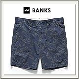 BANKS(バンクス) TRIBE WALKSHORT(総柄ウォークショーツ)[ショートパンツ/短パン][街履きズボン][ネイビー/デニム][メンズ/男性用] (30)