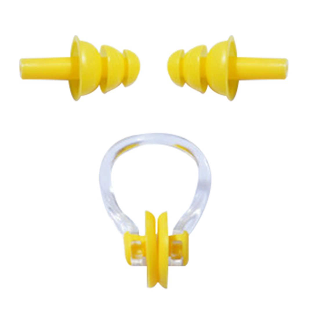 セット スーツバッグ 防水 シリコン 水泳 鼻栓 耳栓 クリップ