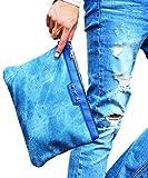 ジョーカーセレクト(JOKER Select) クラッチバッグ メンズ 人気 レディース スタッズ カバン セカンドバッグ ハンドバッグ PUレザー 皮 革 FREE ネイビー