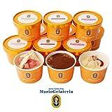 ジェラート専門店 マリオジェラテリア 【大人のジェラートセット 12個入】 110ml 3種 アイスクリーム ギフト セット