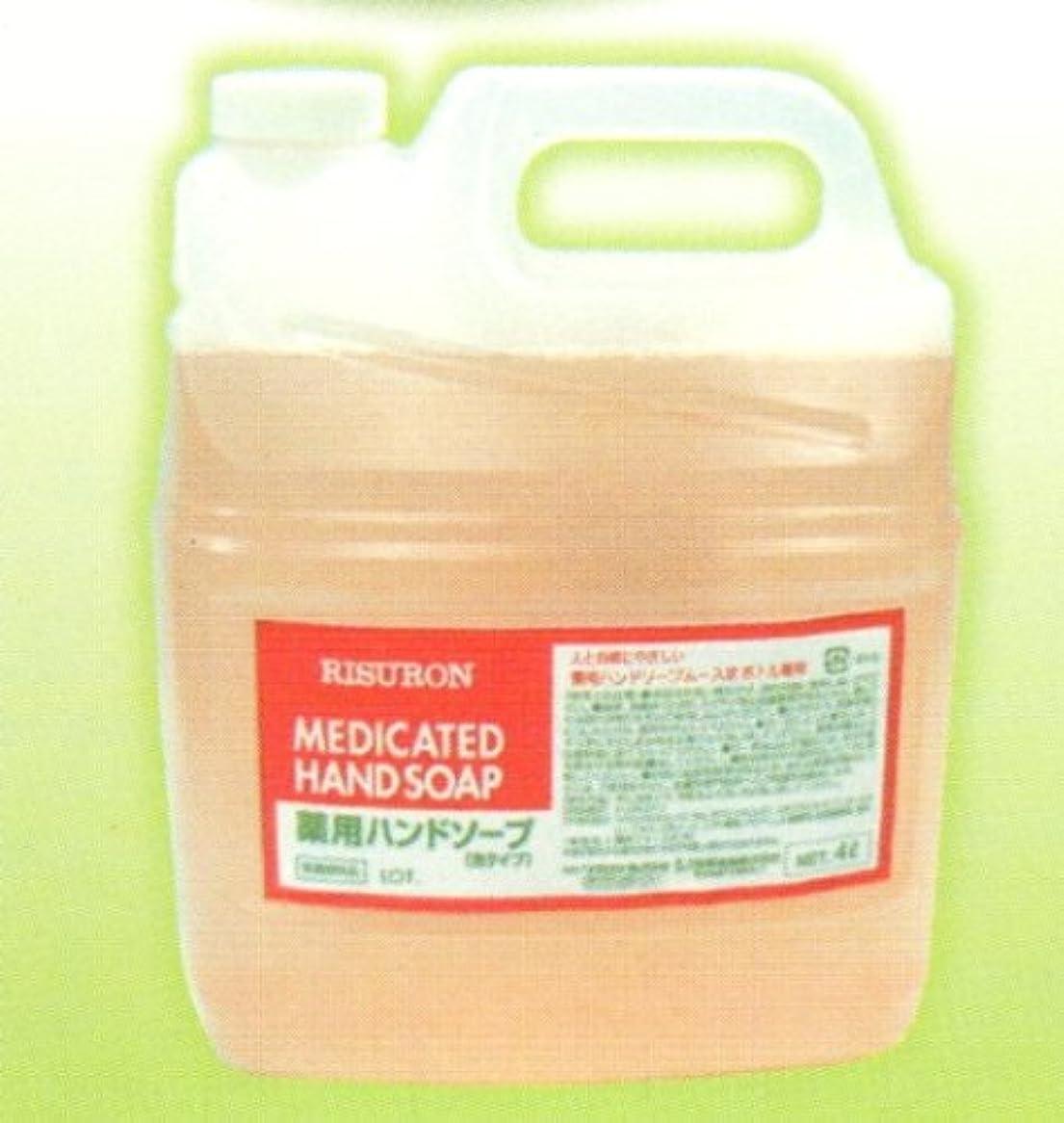 人間田舎人道的薬用泡ハンドソープ 4L