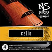 D'Addario ダダリオ チェロ弦 NS Design専用 NS Electric Cello セット NS510 4/4 Medium Tension 【国内正規品】