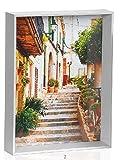 Andrea White wood photo frame 15x20 cm フォトフレーム AX64149