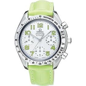 OMEGA (オメガ) 腕時計 スピードマスター ホワイトシェル/グリーンアラビア 3834.72.35 [並行輸入品] レディース