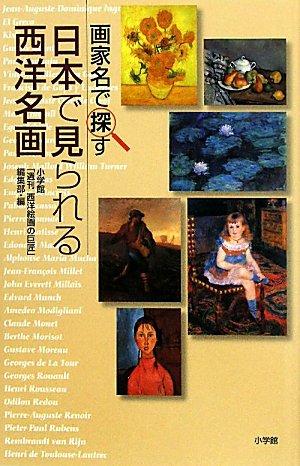 画家名で探す 日本で見られる西洋名画の詳細を見る