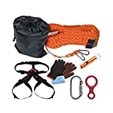 登るセット7 1高層8MM降順ロープ安全ワイヤーロープ家庭用ロープ予備火災ロープセット