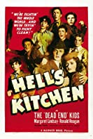 Hell 's Kitchenムービーポスター11x 17The Dead End Kids Billy Halop Bobby Jordan Leo Gorcey Unframed MOV413592