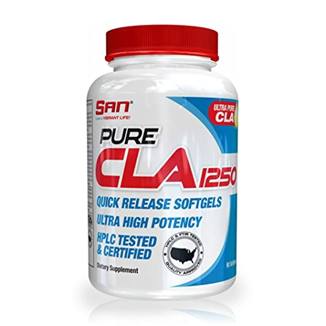 集計マトン絶対にSAN Pure CLA 1250 Diet Supplement, 90 Count by SAN Nutrition