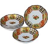 ランチャン(Ranchant) 取皿セット マルチ Φ14x3cm 古伊万里金彩 有田焼 日本製 ama-501701