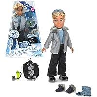 MGA EntertainmentブラッツWintertimeコレクションシリーズ10インチ人形セット – Cameronゴーグル、ジャケット、バックパック、水ボトルとスカーフ