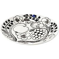アラビア Arabia AR006671 Black Paratiisi Plate 21cm ブラックパラティッシ プレート皿 ≪北欧食器≫ [並行輸入品]