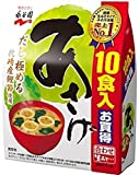 永谷園 生タイプみそ汁 あさげ 徳用10食P×10個