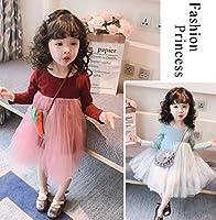 2019年春子供服ワンピース女の子可愛いキッズ服3色80-130