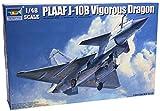 トランペッター 1/48 中国空軍 J-10B戦闘機 ヴィゴラス・ドラゴン2 プラモデル