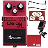 BOSS DM-2W Waza Craft Delay Guitar Effects Pedal with Cables Tuner Polish Cloth Picks [並行輸入品]