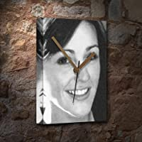 SURANNE JONES - キャンバス時計(LARGE A3 - アーティストによる署名入り) #js004