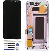 フレーム+修理ツールを使用したLCD液晶ディスプレイとタッチパネルデジタイザアセンブリの修理と交換 Galaxy S8 5.8 inch /S8 edge G950F G950FD G950W G9500 G950A G950P G950T G950U G950V グレー