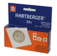 Lindner 8322175 hartberger-coin holders-pack 100の