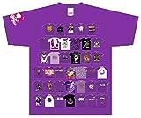 ももいろクローバーZ 10th Anniversary The Diamond Four Tシャツ 【 パープル 高城れに 】 Lサイズ