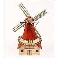 木製模型キット オランダ風車 YG629