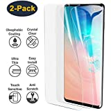 HEYUS [2 Pack] Samsung Galaxy S10 Plus HYDROGEL Aqua Flex Screen Protector Film Protection [NOT Tempered Glass][NO Bubbles] [Case Friendly] [Scratch Proof] [Ultra Tough]