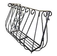 フラワーボックス ロートアイアン プロヴァンス風 幅110cm INK-1401003H