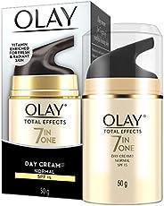 Olay Total Effects Face Cream Moisturiser Normal SPF 15 50g