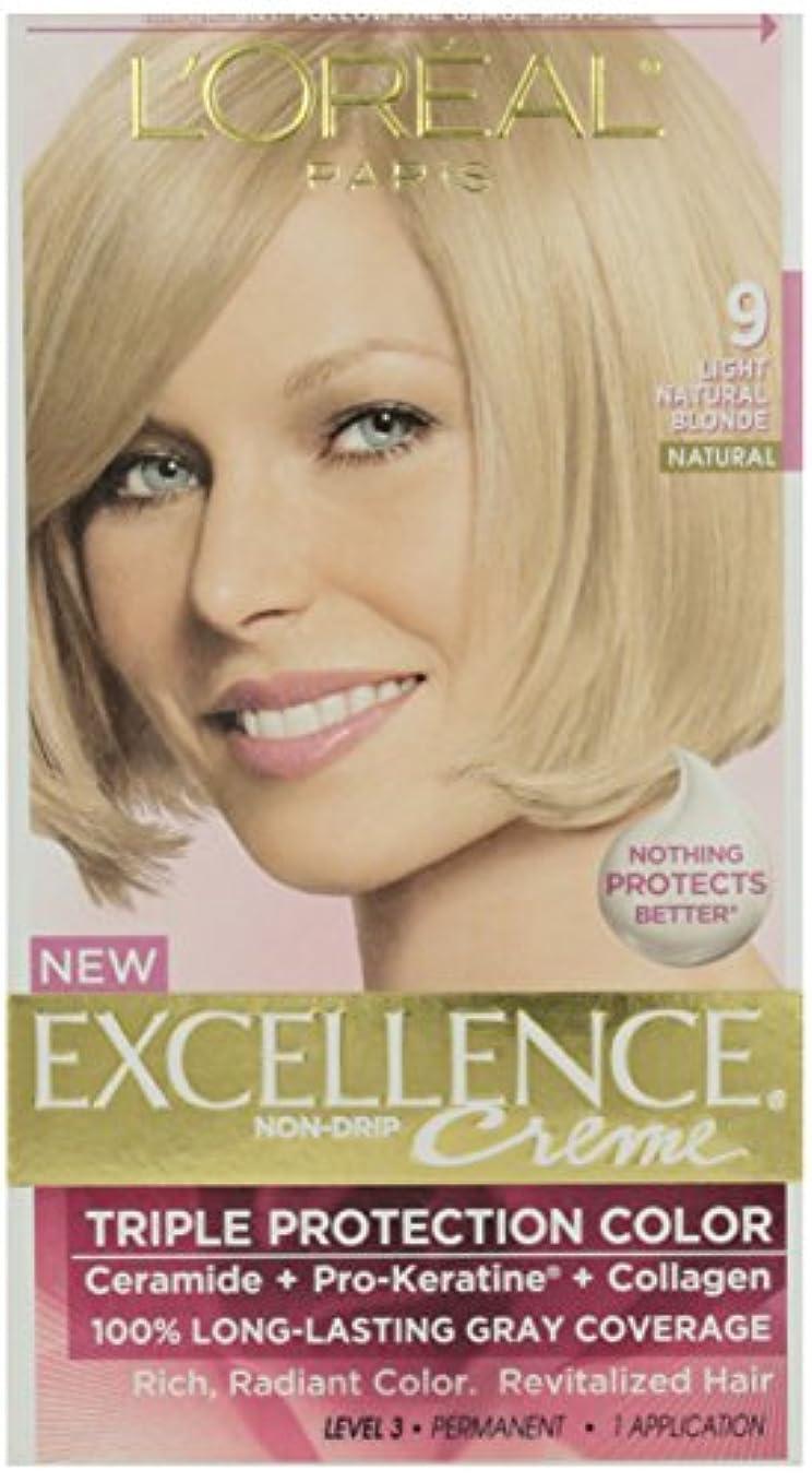 立派なボンドボリュームL'Oreal Paris 優秀#9ナットブロンド髪の色、1のCt