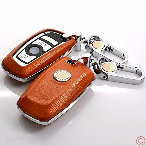 本革レザースマートキーケースカバー適合 BMW F10 F2...
