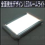 LEDルームライト/全面発光高照度インテリアランプパネル/12V-24V/S【オートランド/AUTOLAND】