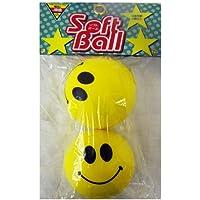 コーナン オリジナル ソフトボール 直径7cm HKSF103 黄色