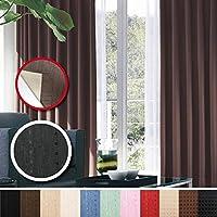 窓美人 センチュリオン 完全遮光 特殊コーティングカーテン 幅100×丈190cm 2枚入り ブラック ストライプ柄 断熱・遮熱・防音 形状記憶付