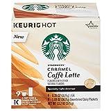 Starbucks Caramel Caffe Latte 9杯分 スターバックスカラメルカフェラテKカップ [並行輸入品]