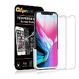 【2枚入り】 OAproda iPhone X 専用液晶強化保護ガラスフィルム日本製旭硝子強化ガラス 3D Touch 極薄0.33mm 指紋防止 9H硬度 位置決め付き 貼り付け簡単 自動吸着 飛散防止
